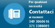 Contatto telefonico +39 349 3060616
